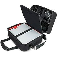 USA Gear Bolsa Tecnológica Organizadora De Viaje - Compartimentos Personalizados, Correa De Hombro Ajustable E Interior Acolchado - Compatible con Tabletas, Proyectores De Viaje Y Más