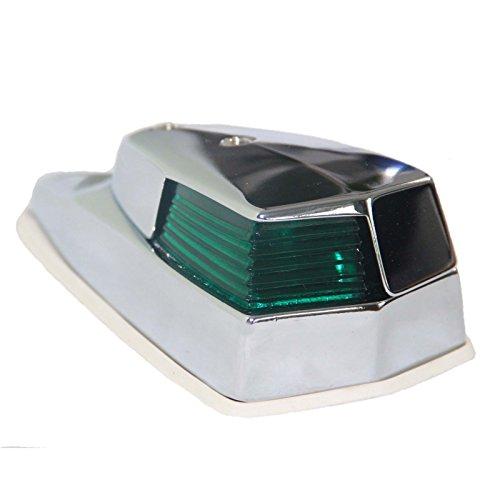 Positionslampe Retro Serie 90 MS verchromt Steuerbord -