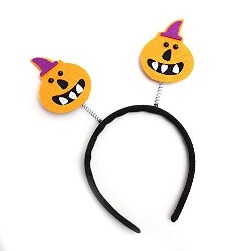 thelastplanet Halloween Stirnband Halloween Haarband Leiter Boppers Halloween Haarschmuck Party Kostüm 22X23cm