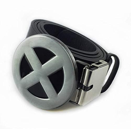Preisvergleich Produktbild Choppershop Marvel Comics Mutant X-Men Gürtelschnalle aus Metall und PU-Gürtel 100 cm