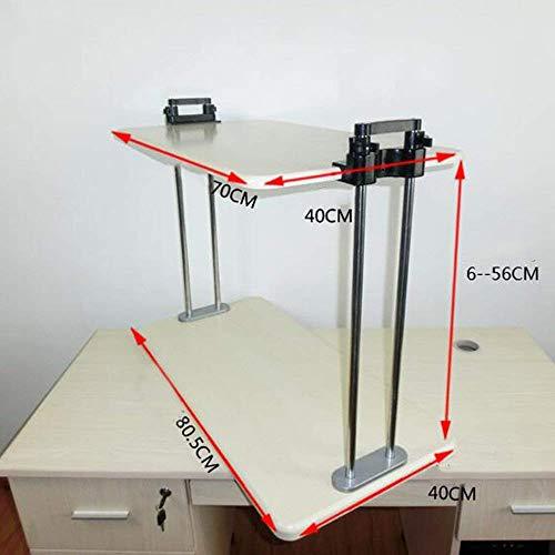 SED Multifunktions Kleiner Tisch Haushaltsständer Schreibtisch Elektrisch Höhenverstellbar Aufstehen Schreibtisch Hebe Umzug Schlafzimmer Einfache Studie Tisch,Höhe 6-56 cm