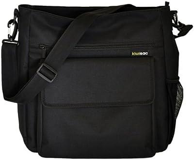 Kiwisac pour Bellemont 8022 Eliot - Bolso cambiador bandolera, color negro