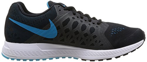 Nike Air Zoom Pegasus 31, Running Entrainement Homme Black (Black/Blue Lagoon/Clearwater/White)