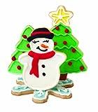 Wilton SET 4 TAGLIAPASTA CHRISTMAS SET 4 TAGLIAPASTA CHRISTMAS, Acciaio, Argento,