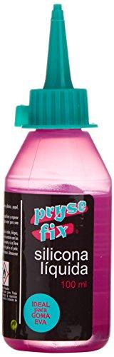 PryseFix 1001100 - Silicona líquida para goma eva, 100 ml