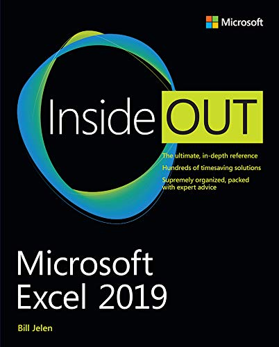 Microsoft Excel 2019 Inside Out (English Edition)