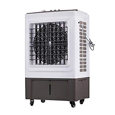 ZIYEYE Portable 3-in-1 Evaporative Air Cooler with Fan, Industrial Humidifier and Air Purifier Functions,35 Litre Cooler