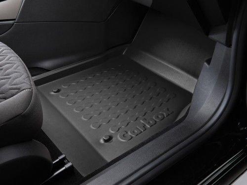 Preisvergleich Produktbild Carbox Floor Fußraumschale Beifahrerseite schwarz passend für das unten genannte Fahrzeug.