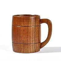La description:       Cette tasse est fabriqué à la main avec du bois de chêne de haute qualité.  Il peut être utilisé aussi bien pour les boissons froides et chaudes.  Il est un artisanat soigné, il est donc aussi un cadeau parfait pour les ...
