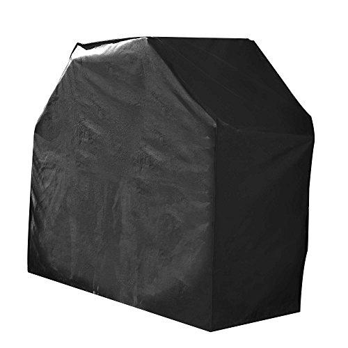Housse De Protection imperméable BARBECUE Haute Qualité polyester doublée PVC L 95 x l 60 x h 95 cm Couleur Anthracite