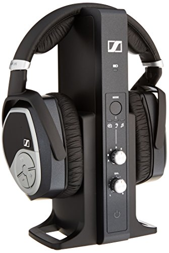 Sennheiser RS 195 RF Wireless Headphone System (Black)