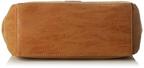Bulaggi Damen Bates Hobo Schultertasche, 12x27x30 cm Braun (Cognac)