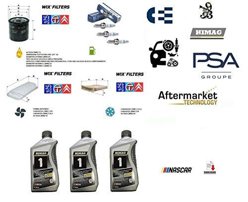 Kit Tagliando 107 - Aygo - C1 1.0 + Olio + 3 Candele Bosch