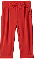 United Colors of Benetton Girls Trouser (15A4PK35A5O5I03A_Barbadoss Cherry_XX)