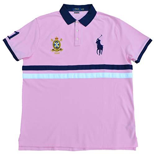 Ralph Lauren Poloshirt Big Pony Polo Rosa Rose Größe XXL