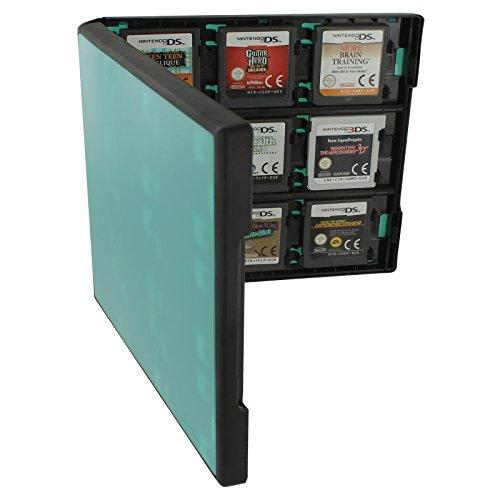 Assecure Pro 18in 1Game Cartridge Halter Storage System Folio Style Case Box für Nintendo 3DS, 2DS und DS Spiel Karten