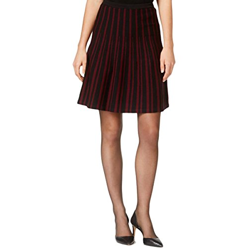 Anne Klein Damen Rock Gr. S, Troubadour Red/Black - Anne Klein Damen Rock