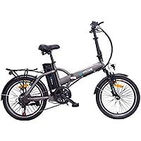 U.MOVE VEUTOO78U01.133 Vélo à Assistance Électrique Pliable Mixte Adulte, Noir
