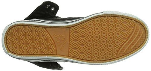 Kappa Baron Footwear Unisex, Baskets Basses Mixte Adulte Noir - Schwarz (1116 black/grey)