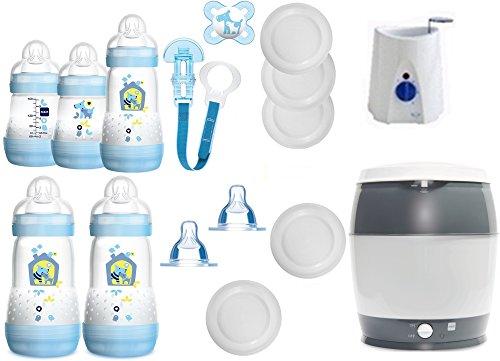 MAM Manuelle Milchpumpe plus MAM Anti Colic Flaschen /& Zubehör *NEU*