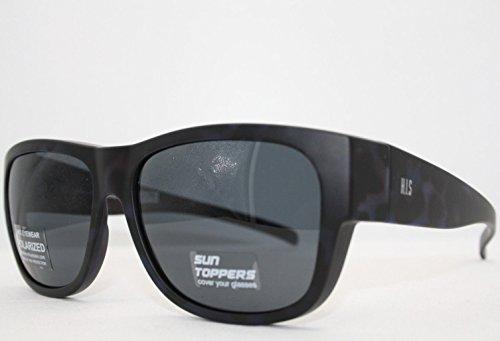 HIS HP 79100-3 Sonnenbrille Überziehbrillen mit Polaroidgläser