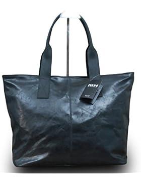 Made in Italy Luxus Damen Schultertasche Shopper Donna Bella Leder