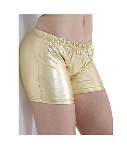 GW CLASSYOUTFIT® Damen Short Gr. 44, gold