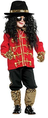 AV53141-5 - Kinderkostüm MICHAEL J. BABY - Alter: 1-6 Jahre - Größe: 5 (Baby Michael Jackson Kostüm)