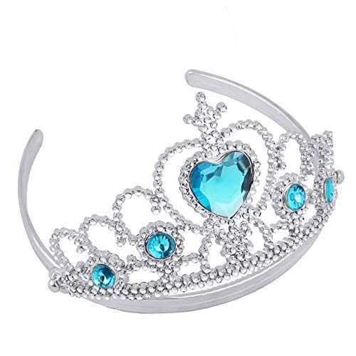 Prinzessin Krone Rollenspiel Party Spielzeug, Mamum Girl Queen Princess Crown Kristall Tiara Halloween Cosplay Urlaub Party Geschenke Einheitsgröße ()