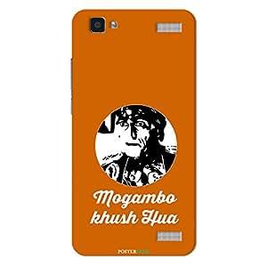 PosterHook Mogambo - Bollywood Designer Case for Vivo V1 Max