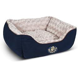 Scruffs Wilton perro cama, pequeños, 50x 40cm, color azul