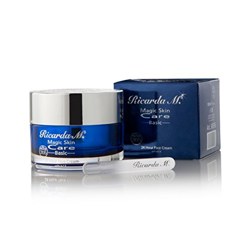 Ricarda M. MSC Basic 24 Hour Face Cream, 1er Pack (1 x 120 ml) (Feuchtigkeit 24 H)