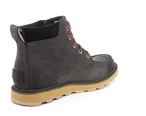 Sorel Madson Moc Toe Waterproof, Stivali Uomo Grill / Black