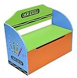 Bebe Style bcr1tb baúl para juguetes madera + Banqueta para