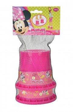 Minnie Maus Topfstelzen / Topf Stelzen / aus Kunststoff / 12 cm / Disney / ab 36 Monate ideal für den Garten , Terrasse , Urlaub , Camping