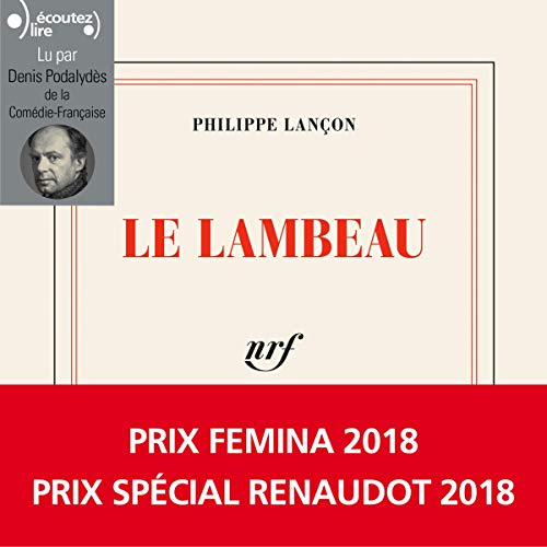 Le Lambeau par Philippe Lançon