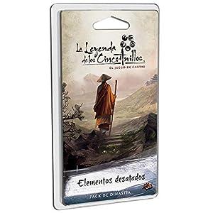 Fantasy Flight Games-La La Leyenda De Los Cinco Anillos: Elementos Desatados - Español, (FFL5C14)