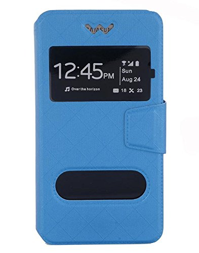 Shopme PU Leather Flip cover for Zync Cloud Z401  available at amazon for Rs.279