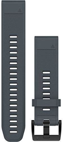 Garmin Silikon-Armband Quickfit-Wechselarmband, Granitblau, 22 mm