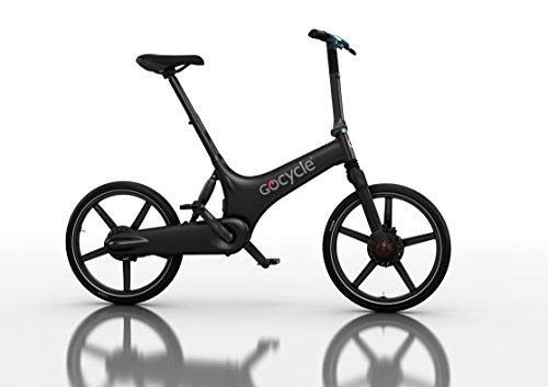 Elektrische Fahrrad zerlegbaren Design, GoCycle G3 schwarz mit base pack Flug Geschenk für Europa für 2 Personen
