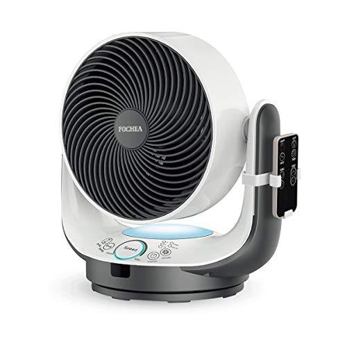 Air Circulator Fan, fochea Power Tisch Fan mit Fernbedienung -