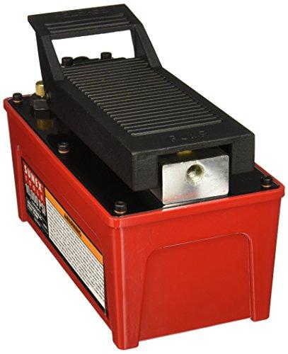 Sunex 499810.000PSI Kapazität Air/Hydraulische Fußpumpe -