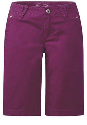 Street One Damen Bermuda Hose Joris sunny violet (lila)