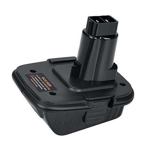 Bomai ADAPTER - Adapter für DewalT Werkzeuge 18V - 20V DCA1820 DCB090 (USB Konverter) USB Power Bank Funktion konvertiert in DeWALT DC9096 DE9096 - 20 Dewalt Usb Volt