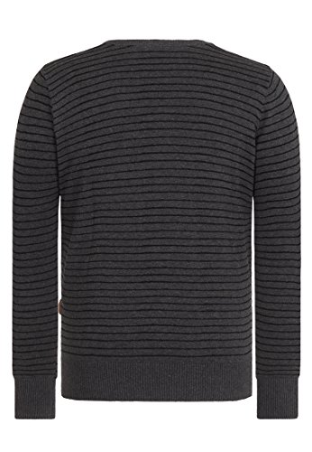 Naketano Male Knit 31er II Anthracite Melange