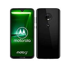 "Motorola Moto G7, Smartphone Android 9.0, Display 6,2"", Dual Camera da 12Mp, 4/64 GB, Dual Sim, Nero (Ceramic Black) [versione Italia]"