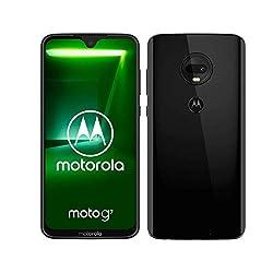 moto g7 Dual-SIM Smartphone (6,2 Zoll Display, 12-MP-Dual-Kamera, 64GB/4GB, Android 9.0) Ceramic Black [Exklusiv bei Amazon]