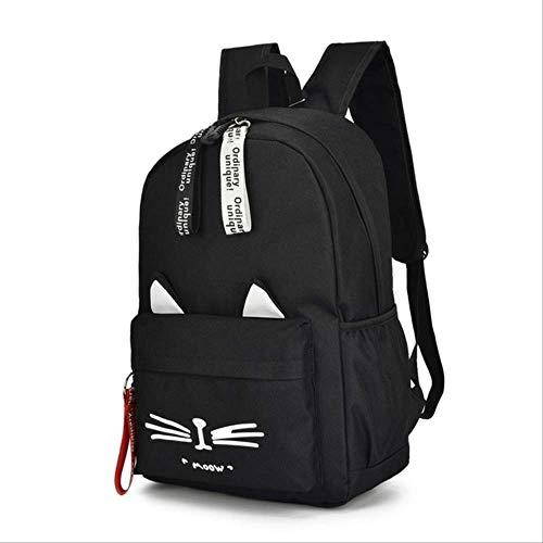 LINADEBAO Neue Ankunft Student Schultaschen Für Teenager Mädchen Multifunktions Laptop Schulrucksack Frauen Rucksäcke Mädchen Tasche schwarz - Pegasus 30 Nike Frauen