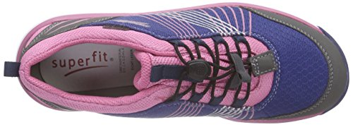 Superfit LUMIS 600416 Mädchen Sneaker Blau (WATER MULTI 89)