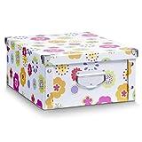 Zeller 17853 Aufbewahrungsbox, Kids, Pappe, ca. 40 x 33 x 17 cm